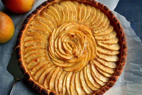 tarte aux pommes pate sablee compote la tarte aux pommes il 233 tait une fois la p 226 tisserie