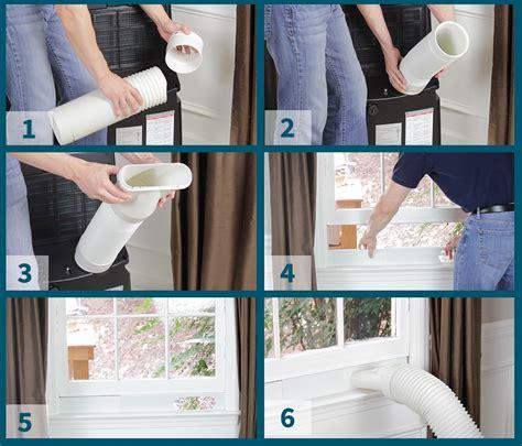 vent  portable air conditioner sylvane
