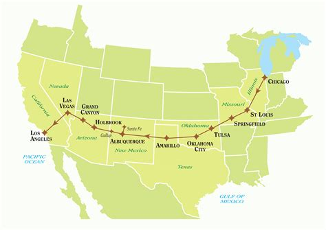 Tailor-made Route 66 Self Drive Tours   Just America