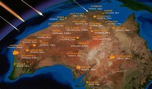 Meteoritos / Meteorites: Meteorite craters in Australia