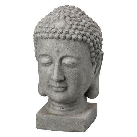 Buddhakopf 20 Cm Dunkelgrau Kaufen Bei Obi