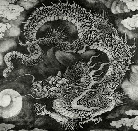 chinese    asian dragons  fur  hair mythology stack exchange