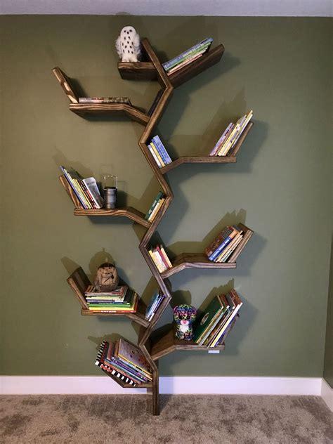 tree bookshelf plans   bookcase plans tree