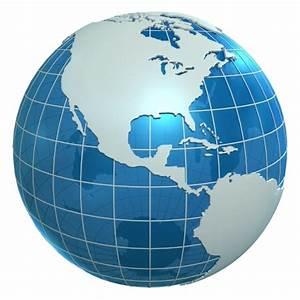 3d world continents