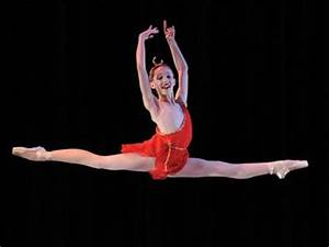 Ballet Exercises - Split Leaps