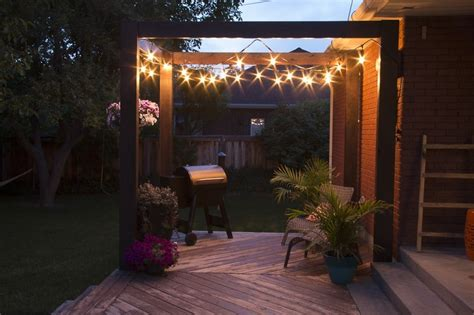 remodelaholic simple modern diy deck pergola plans