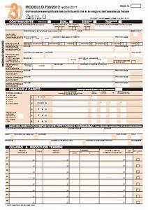 Modello 730 2012 in PDF da scaricare