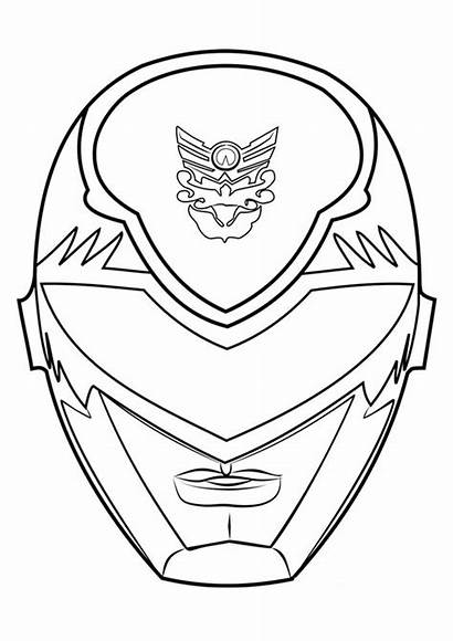 Power Rangers Coloring Pages Ranger Easy Tulamama