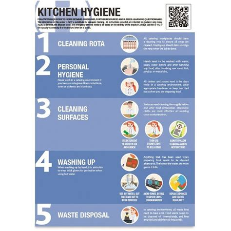 Kitchen Hygiene Poster - A2 - Morsafe