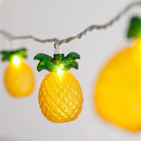 Pineapple Lights by Novelty Lights Pineapple String Light Set 10 Clear Lights