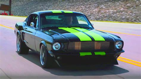 Mustang Electric Car by This 68 Mustang Is Faster Than Any Supercar On The Planet