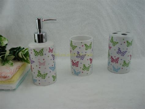 butterfly bathroom sets accessories interior home design