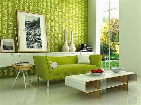 gambar wallpaper dinding ruang tamu minimalis modern