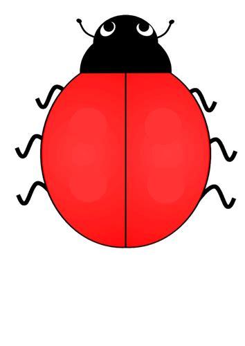blank ladybug template templates