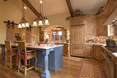 keystone ranch home rustic kitchen denver by markel design