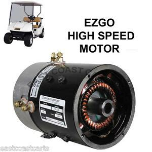 Ezgo 36 Volt Motor Wiring by Ezgo 36 Volt Series Golf Cart High Speed Motor Up To