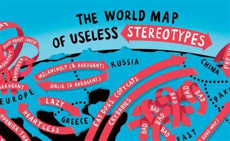 comical continental beliefs  world map  useless