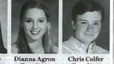 find yearbook photos for free glee cast high school yearbook photos