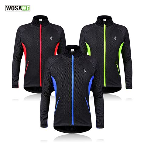 waterproof winter cycling jacket wosawe cycling jacket windproof waterproof bike bicycle