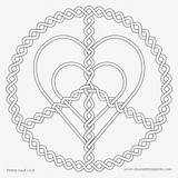 Coloring Clipart Heart Donut Clipartkey Colour 188kb sketch template
