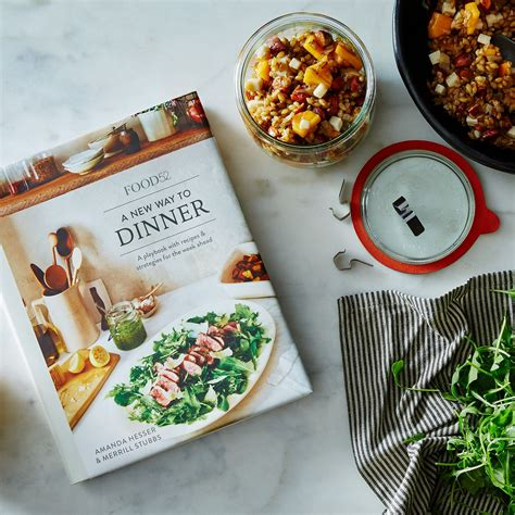 Kitchen Amanda Hesser And Merrill Stubbs Food52 by Signed Copy A New Way To Dinner By Amanda Hesser And