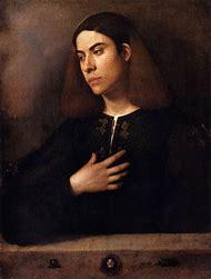 Giorgione Portrait of Young Man