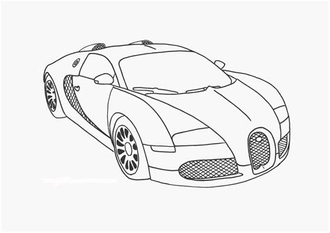 Bugatti Coloring Page - Castrophotos