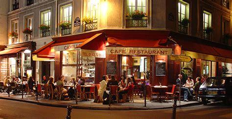 cuisine style bistrot parisien bistro at marais district a busy