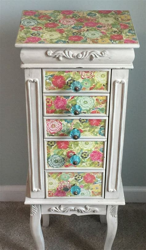 Painted Jewelry Armoire 17 Best Ideas About Armoire Redo On