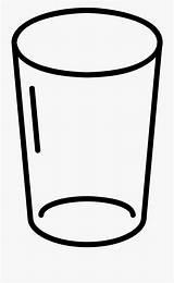 Glass Coloring Empty Water Clipart Pages Cartoon Lemonade Transparent Pngio Jar Netclipart sketch template