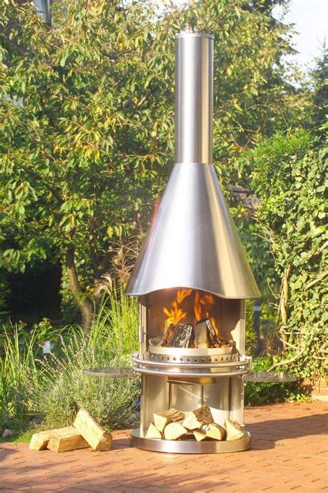 Kamin Im Garten Die Feuerschale by Bbq Smoker Grill Edelstahlgrill Feuerstelle Gartenkamin