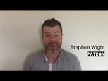Patron Stephen Wight discusses the LET Bursary - YouTube