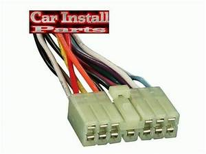 For Subaru Oem Stock Radio Plug Stereo Wire Harness 1981