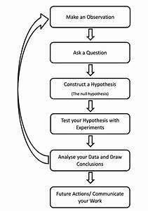 A Schematic Of The Scientific Method