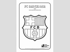 Cool Coloring Pages Others FC Barcelona logo