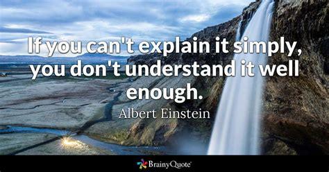albert einstein    explain  simply  dont