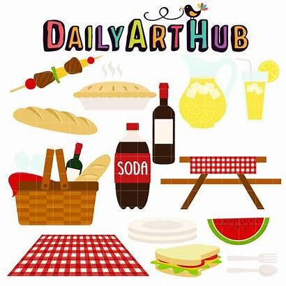 Picnic Summer Clip Digital Hub Daily Everyday