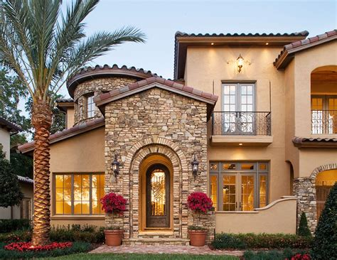 Courtyard Mediterranean Style House Plans Villa Plan Alp