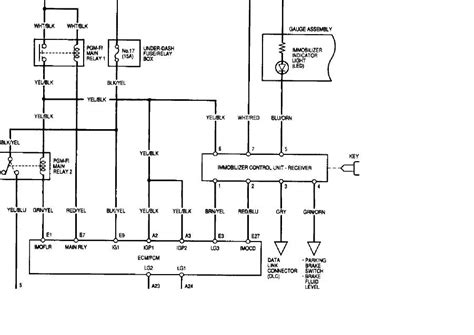 Immobilizer Wiring Key Cylinder The