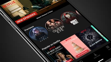 netflix mobile netflix mobile previews are vertically aligned trailers