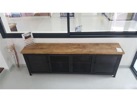 meuble de cuisine industriel enchanteur meubles industriels pas cher avec console daco