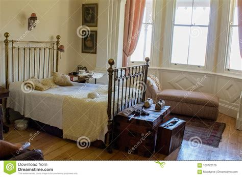 victorian master bedroom editorial stock image image