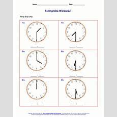 Time Worksheet New 322 Telling Time Worksheets Half Past