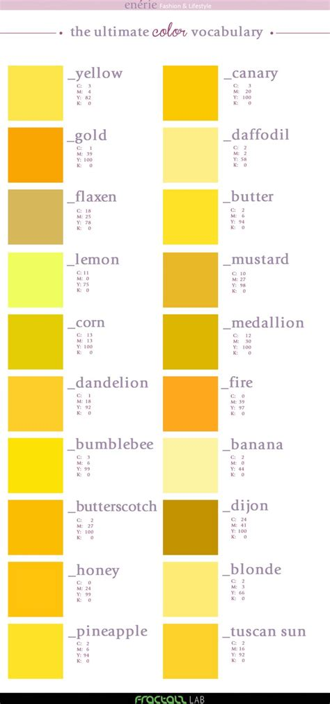 best 25 yellow color palettes ideas on yellow