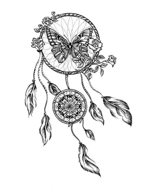159 best DreamCatcher Coloring Pages for Adults images on Pinterest | Adult coloring, Adult