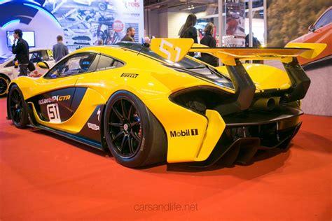Mclaren P1 Gtr At Autosport International 2016