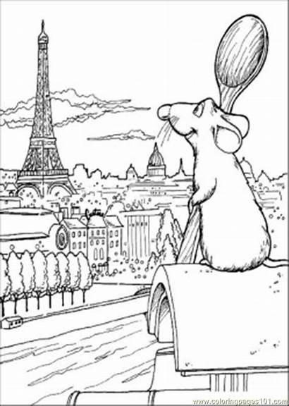 Coloring Pages Ratatouille Disney