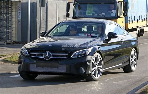 Mercedes E Class Facelift 2019 by 2019 Mercedes C Class Coupe Facelift Shows All New