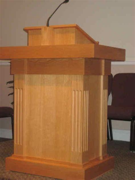 intelligent design woodwork church pulpit intelligent