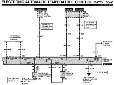 Lincoln Town Car Eatc Wiring Diagram Auto